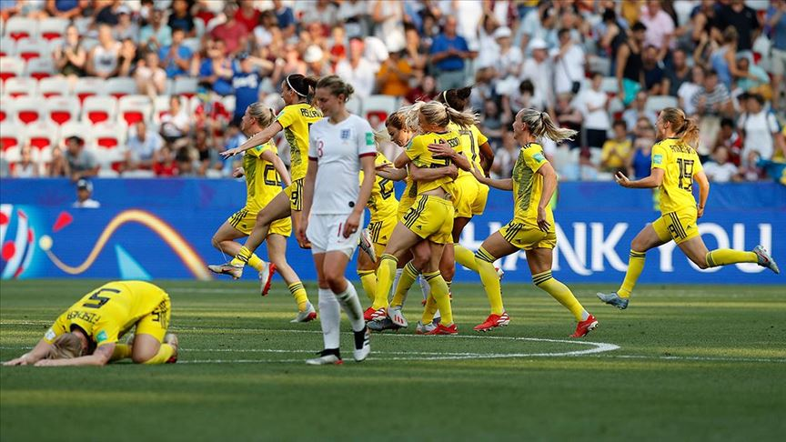 FIFA Kadınlar Dünya Kupası'nda üçüncü İsveç oldu!