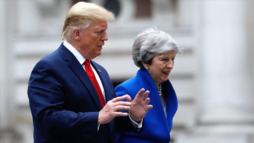 Trump, İngiltere Başbakanı May ile telefonda görüştü