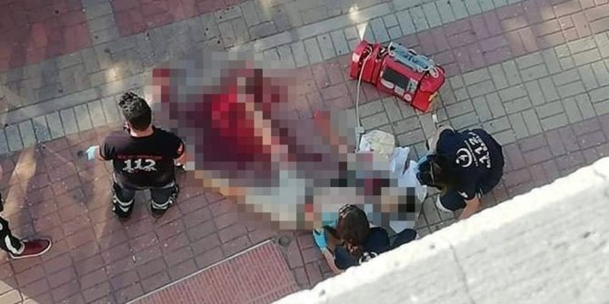 Kırgızistan uyruklu genç sokak ortasında  öldürüldü