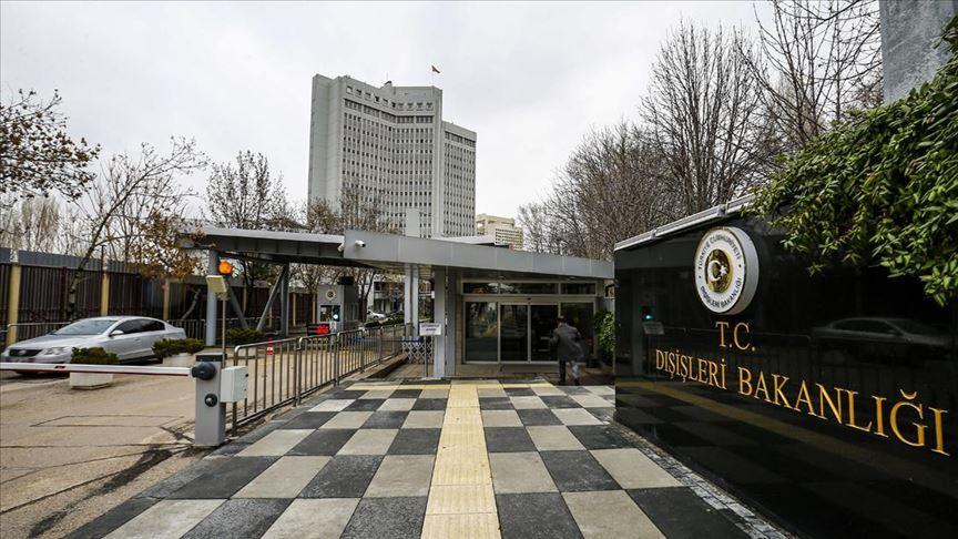 Türkiye'den Gazne ve Kabil'deki terör saldırılarına kınama