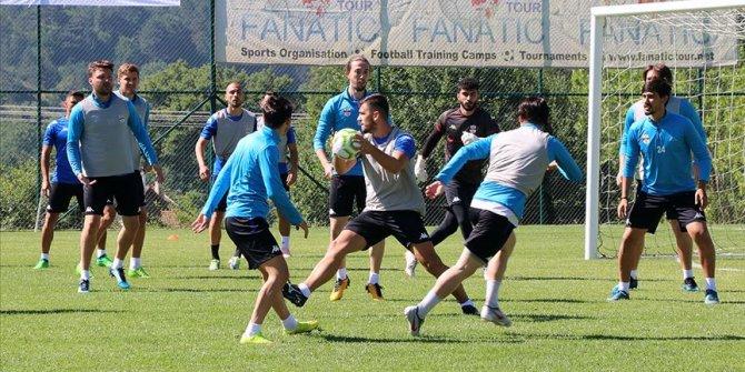Yeni sezon öncesi kulüpsüz futbolcular Bolu'da kampa girdi