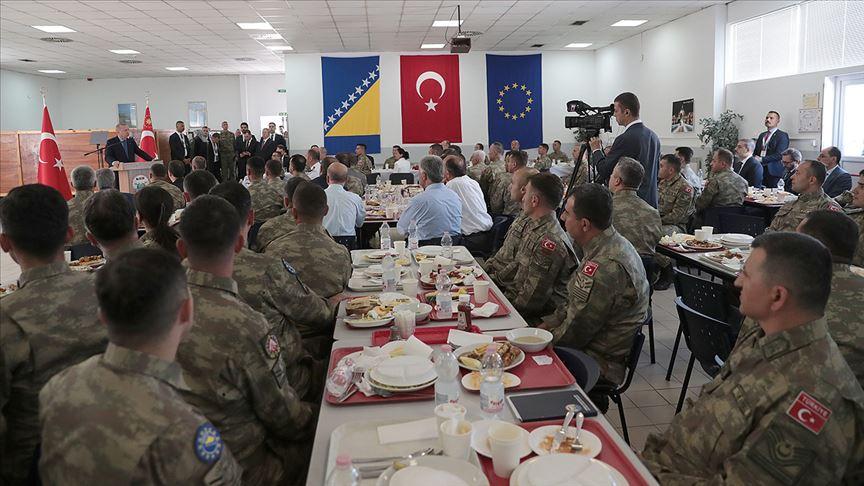 Erdoğan Butmir'deki Türk askerlerini unutmadı!