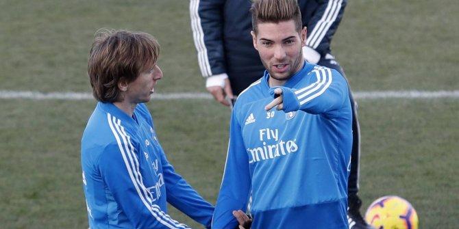 Oğlunu 2. Lig'e gönderdi (Luca Zidane )