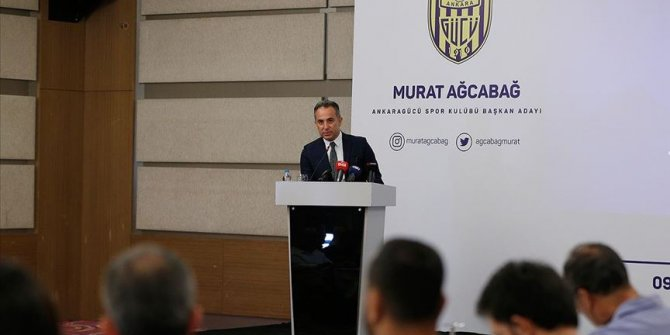 Ankaragücü'nde Murat Ağcabağ başkanlığa aday oldu!