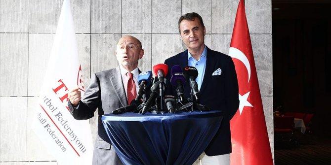 TFF Başkanı Özdemir ile Kulüpler Birliği Başkanı Orman basın toplantısı yapacak!