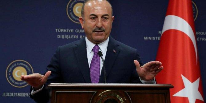 Bakan Çavuşoğlu'ndan önemli açıklamalar! Konuşmaya hakları yok