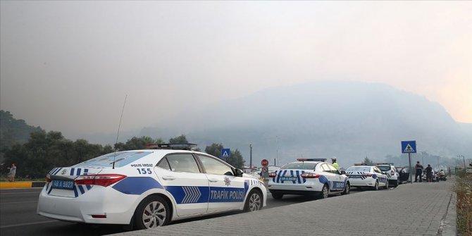 Muğla'daki orman yangınında alevler Göcek'e ulaştı