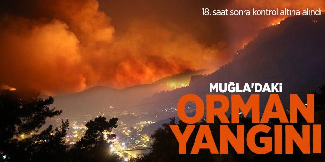Muğla'daki orman yangını kontrol altında!