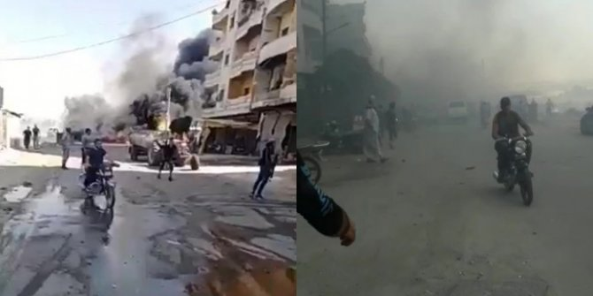 Afrin'de bombalı saldırı: 9 ölü, 34 yaralı