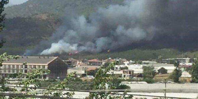 Bir üzücü haber daha! Fethiye'de yangın