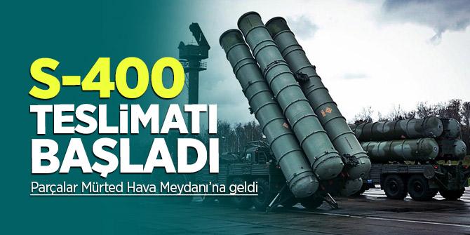 Türkiye'de tarihi gün! S-400 teslimatı başladı