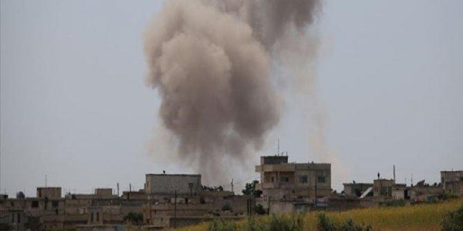 Esad rejimi kent merkezine saldırdı : 8 sivil ölü, 35 sivil yaralı