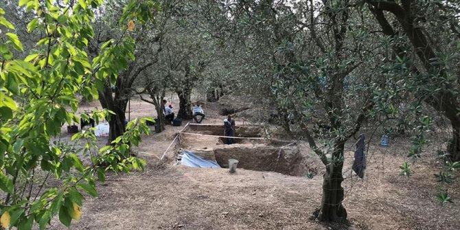 İznik'te geç Roma dönemine ait mezar bulundu