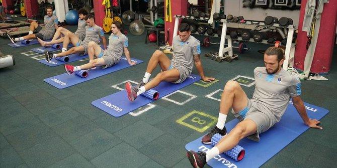 Trabzonspor'da 7 futbolcu özel antrenman yaptı