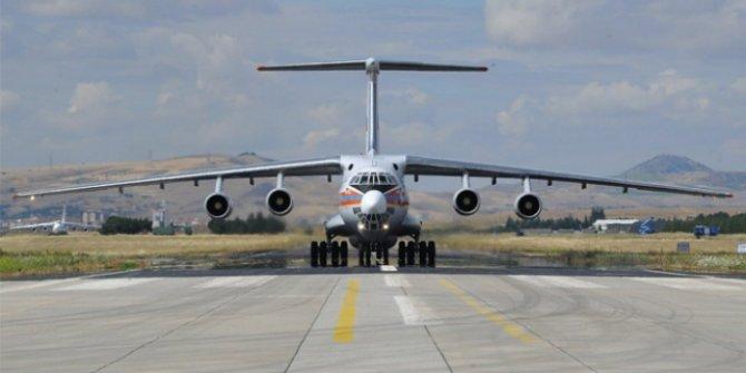 S-400 sevkiyatında  7. uçak Mürted Hava Meydanı'na iniş yaptı