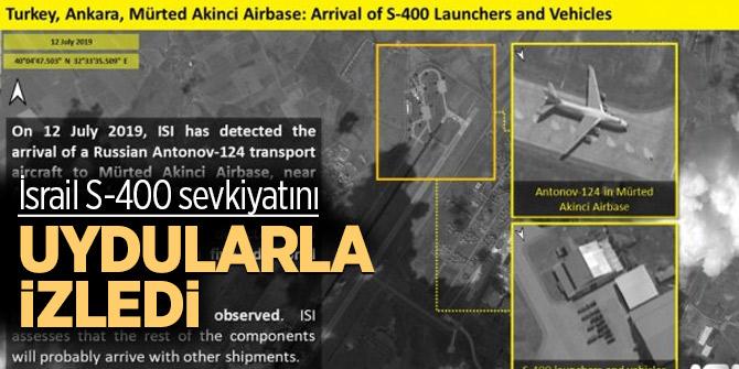 İsrail S-400 sevkiyatını uydularla izledi