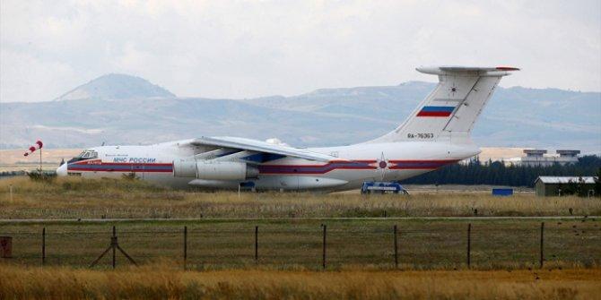 S-400 sevkiyatı sürüyor!  9. uçak Mürted Hava Üssü'ne indi