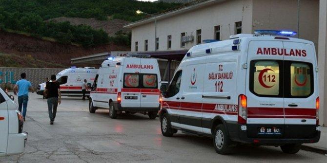 Ovacık'ta patlama: 2 çocuk yaralandı