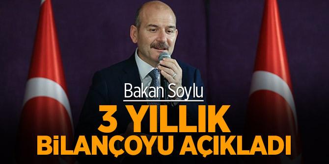 Bakan Soylu 3 yıl içinde yapılan operasyon sayısını açıkladı