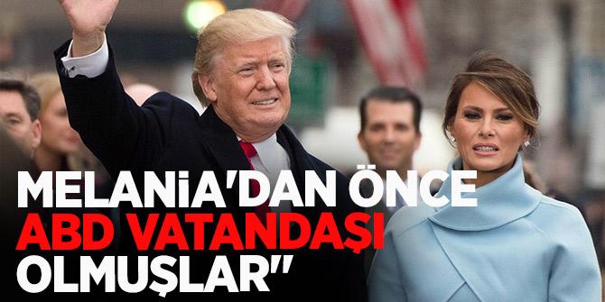 Trump'ın 'ülkenize dönün' dedi!  Eşi Melania'nın durumuna dikkat çektiler...
