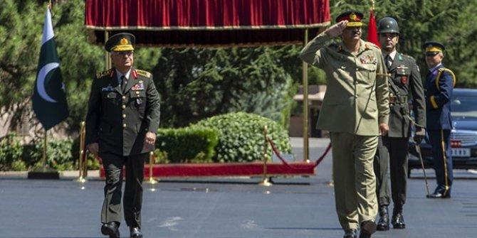 Güler, Pakistan Genelkurmay Başkanı Hayat ile görüştü!