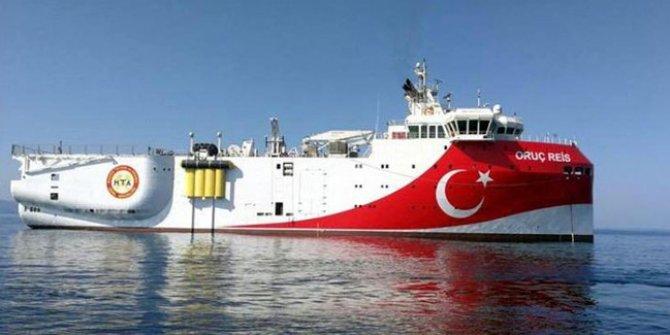 Bakanlık açıkladı: Araştırma gemisi Oruç Reis'e yeni görev!