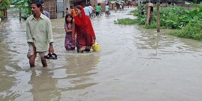 Hindistan'da doğal afet: 45 ölü