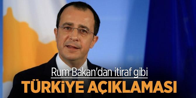 Rum Bakan'dan itiraf gibi Türkiye açıklaması