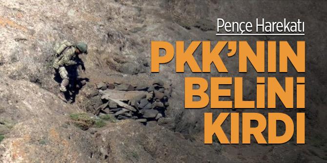 Pençe Harekat PKK'nın belini kırdı