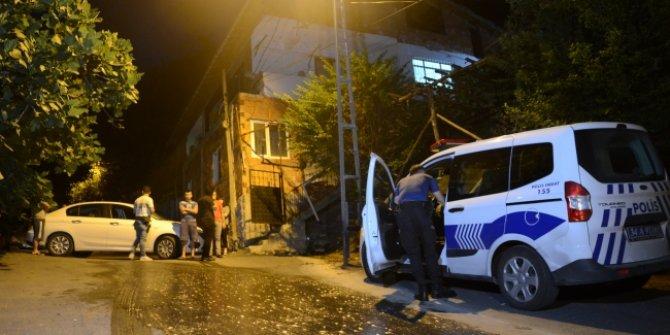 Beykoz'da  molotofkokteyli ile saldırı düzenlendi