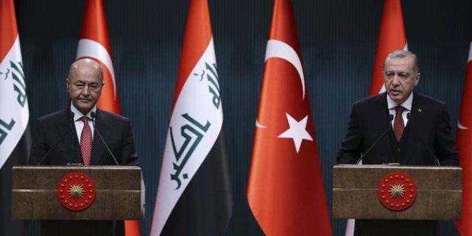 Erdoğan Irak Cumhurbaşkanı ile Erbil'deki saldırıyı görüştü