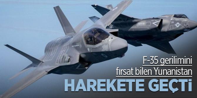 F-35 gerilimini fırsat bilen Yunanistan hamlesini yaptı