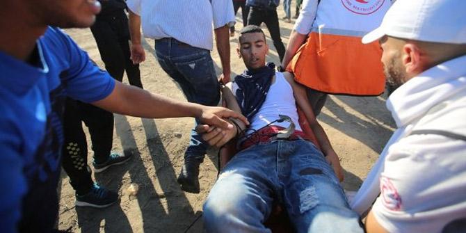 İsrail askerleri 17 kişiyi yaraladı
