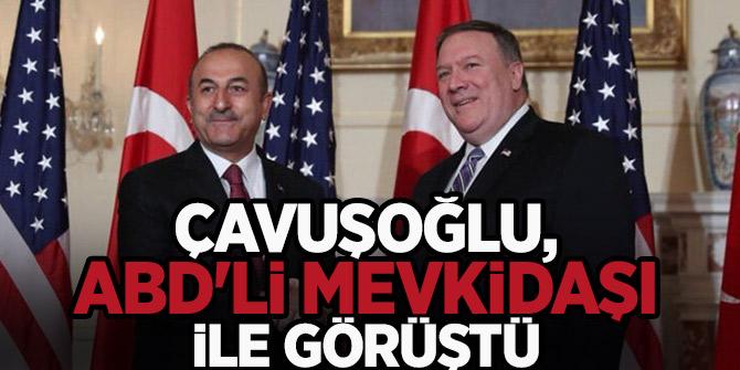 Bakanı Çavuşoğlu, ABD'li mevkidaşı ile görüştü!