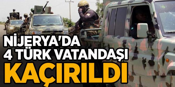 Batı Afrika ülkelerinden 4 Türk vatandaşı kaçırıldı