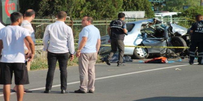 Edirne'de feci kaza! 3 kişi yaşamını yitirdi