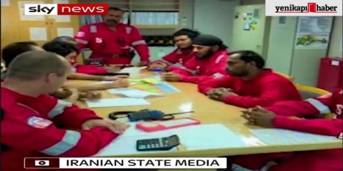 Dünyayı sarsan görüntüleri yayınladı! İran....