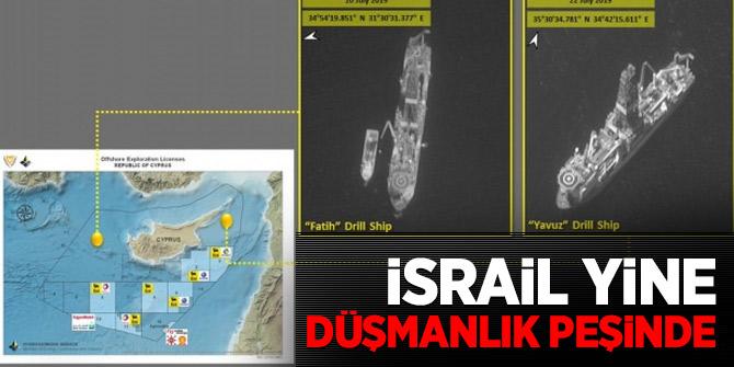 İsrail yine düşmanlık peşinde