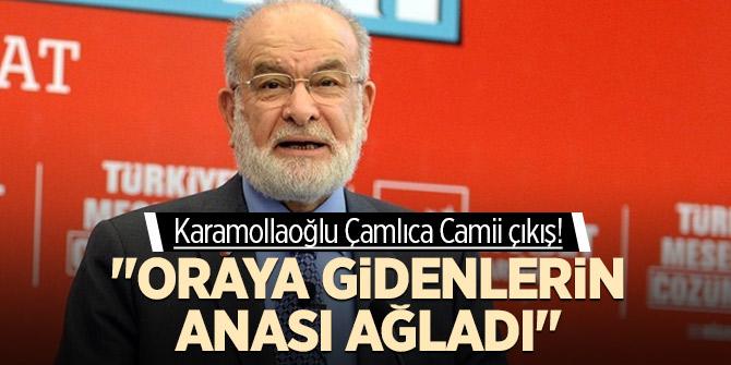"""Karamollaoğlu Çamlıca Camii çıkış! """"Oraya gidenlerin anası ağladı"""""""