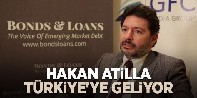 Hakan Atilla, Türkiye'ye geliyor