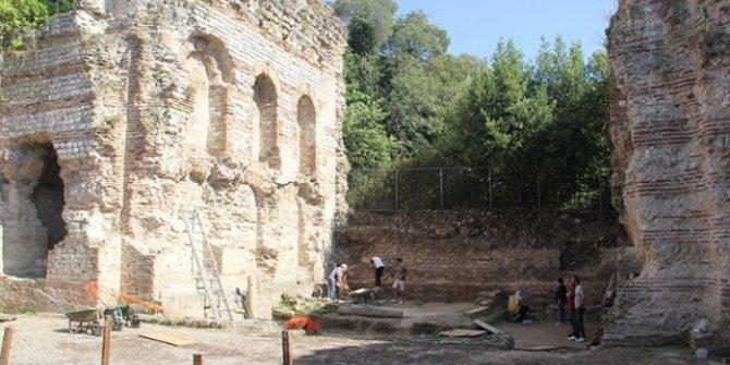 Sinop'ta bin 500 yıllık kilise kalıntılarına ulaşıldı
