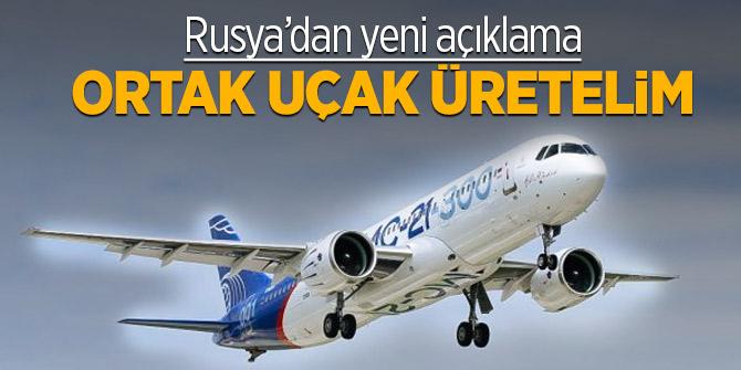 Rusya'dan ortak yolcu uçağı üretimi açıklaması