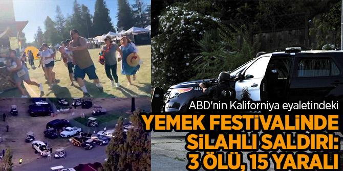 Yemek festivalinde silahlı saldırı: 3 ölü, 12 yaralı