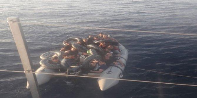 33 düzensiz göçmen Muğla'da  yakalandı