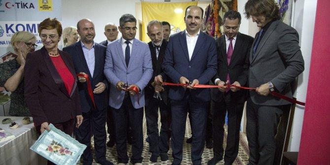 Başkan Altay Saraybosna KOMEK Sergisinin Açılışını Yaptı