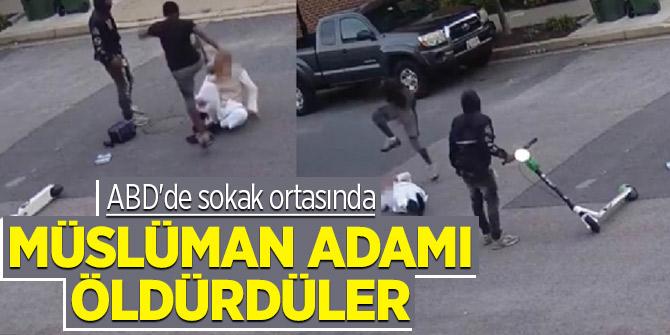 ABD'de sokak ortasında Müslüman adamı öldürdüler