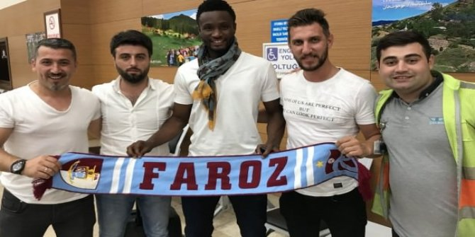 Obi Mikel Trabzon'da
