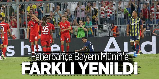 Fenerbahçe Bayern Münih'e farklı yenildi