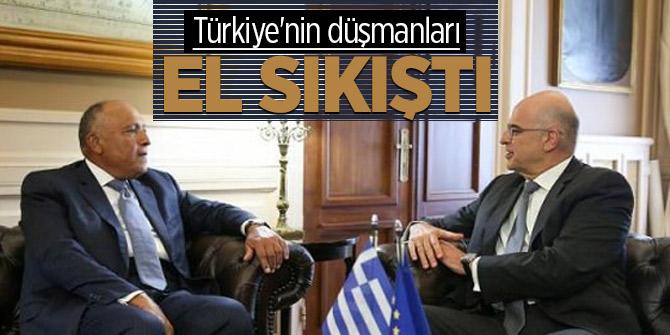 Türkiye'nin düşmanları el sıkıştı