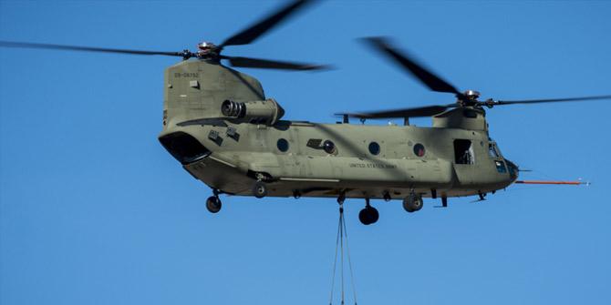 Türkiye 4 adet Chinook helikopteri aldı